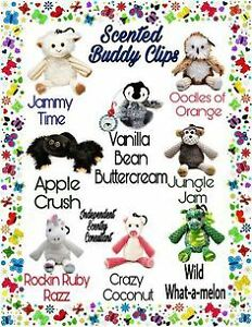 $20 Scentsy Buddy Clips taxes and shipping included