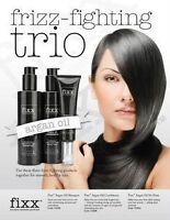 ARGAN OIL FRIZZ FIGHTING TRIO $50