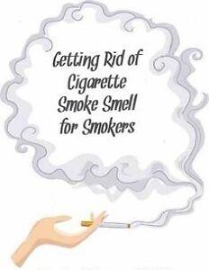 TOBACCO SMOKE ODOUR REMOVAL!