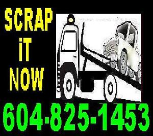 *TOWING_FLAT RATE*604-825-1453*TOW TRUCK**FREE SCRAP CAR REMOVAL