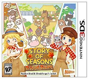 Harvest Moon Story of Seasons - Used - Without case - 15$