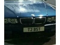 Private Cherished Registration T2 BST