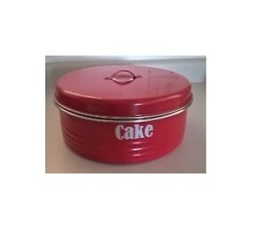 "Typhoon ""Vintage Kitchen"" Red Cake Tin"