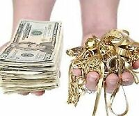 we pay cash when we buy all silver & gold in any condition