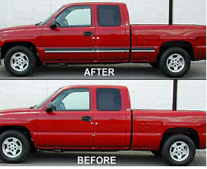 2-1/4 Black & Chrome Body Side Molding BLOWOUT @ Brown's