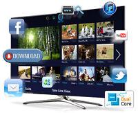 SALE ON NEW FULL SAMSUNG QUAD CORE WIFI SMART SERIES LED TVS