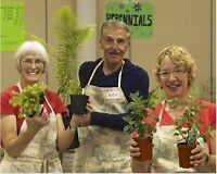 Volunteers for Plant Booth at the MCC Sale