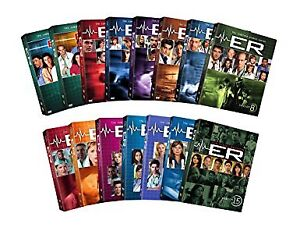 ALL SEASONS of ER on DVD