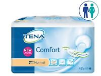 Tena Comfort Normal Incontinence Pads 8 Packs of 42