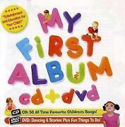My First Album CD DVD