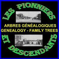 Family trees with over 5,000 descendants listed in these albums