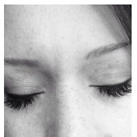 Eyelash extension special this weekend only!