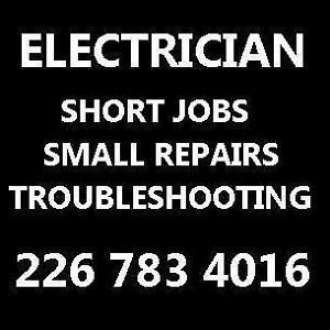 226-783-4016 Electrician LaSalle, Ontario