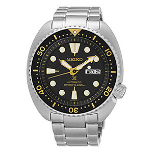 "AUTHORIZED SEIKO DEALER BRAND NEW SEIKO Prospex AUTOMATIC SRP775 ""TURTLE"" ( 3 ) YEAR WARRANTY"