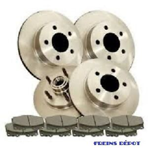 ROTOR PAD PLAQUETTE DISQUES DISK DISC FREIN BRAKE PIECES PARTS