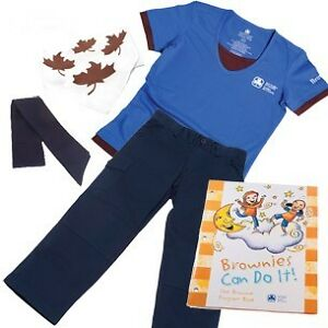 NEW Girl Guides of Canada Brownie Uniform Set size 7/8