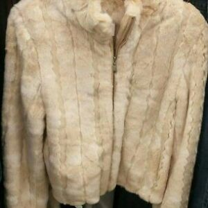 Faux Fur Coat (Size L)