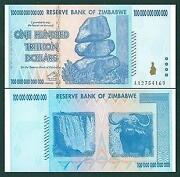 Zimbabwe 100 Trillion