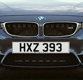 HXZ 393 – Price Includes DVLA Fees – Cherished Personal Private Registration Number Plate