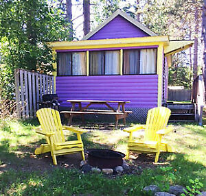 DON'T BE DISAPPOINTED! PURPLE COZY LAKEFRONT COTTAGE!