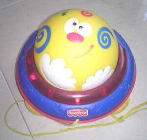 Fisher Price Pull and Roll Ball Musical