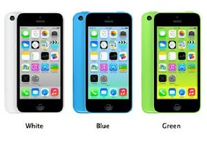 Like New 16gb Bell/ Virgin iPhone 5 (Green, White & Blue)