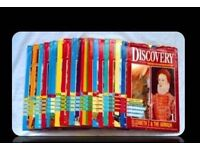 DISCOVERY - HISTORY MAGAZINE COLLECTION - (1-24) - FOR SALE