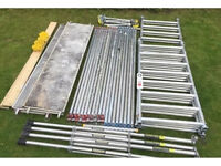 Boss Youngman 6.2m Working Height Aluminium Scaffold Tower Fully Complete