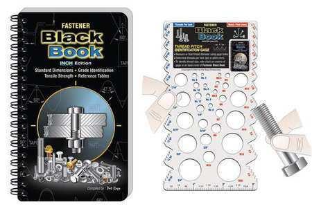 Zoro Select Fbb-Inch Fastener Black Book,Inch Edition