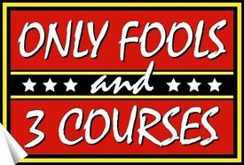 Only Fools and 3 Courses Interactive Dinner Show