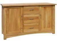 Brooklysolid oak sideboard
