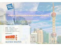 Investing in Tech Companies in Europe: a Chinese Perspective