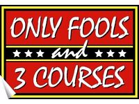 Only Fools and 3 Courses Interactive Dinner Show Peterborough