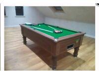 Supreme prince 7ft pool table