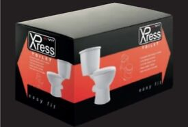 Xpress white complete toilet easy fit