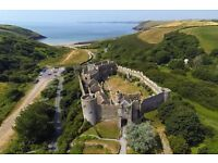 Manorbier Country park near Tenby Autumn Offers