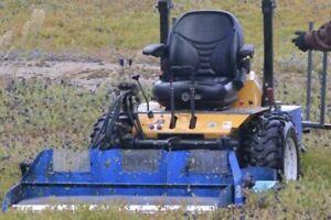 Tracteur à Bleuets