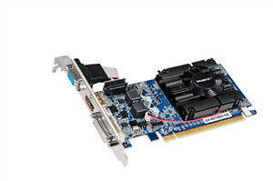 Gigabyte Video Card GeForce 210 1GB DDR3 PCIE DVI/D-SUB/HDMI Low