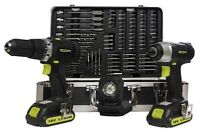 ((Unopened))18V Lithium-Ion Cordless Drill 99pcs Combo Kit
