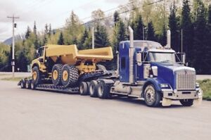 Transportation of heavy equipment