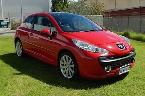 '07 Peugeot 207 GT Sports with NO DEPOSIT FINANCE!* O'Connor Fremantle Area Preview