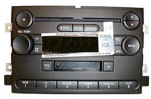 Ford F-150 CD Cassette radio. OEM factory original stereo. 2004+ F150