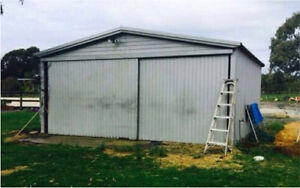 6x6 m double door shed Port Kennedy Rockingham Area Preview