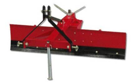GRADER BLADE 4FT 120CM TRACTOR 3 POINT LINKAGE ADJUSTABLE ANGLE