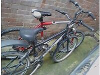 2x Mens bikes / bicycles - GIANT gsr - Alu frame -Old BSA townhome - both need minor tlc