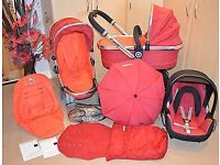 Icandy peach tomato red with everything plus extras