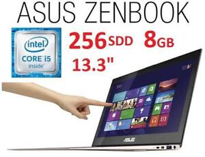 NEW OB ASUS ZENBOOK 13.3 TOUCH PC - 131904139 - LAPTOP COMPUTER INTEL I5 8GB MEMORY 256GB SDD WINDOWS 10