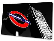 London Underground Canvas