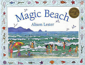 MAGIC-BEACH-by-ALISON-LESTER-Childrens-Picture-Story-Reading-Book-New