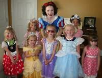 PRINCESS BIRTHDAY PARTY ENTERTAINER 4 HIRE
